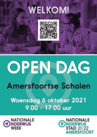 Poster Open dag Amersfoortse scholen 1